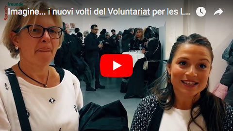 Imagine... i nuovi volti del Voluntariat per les Llengües – evento 29.11.2017